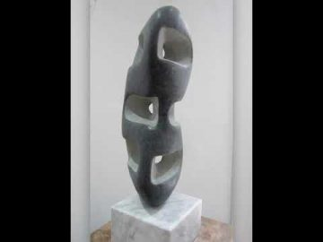 Mark Stonestreet Green Bean Welsh Green Granite 40x15x15cm